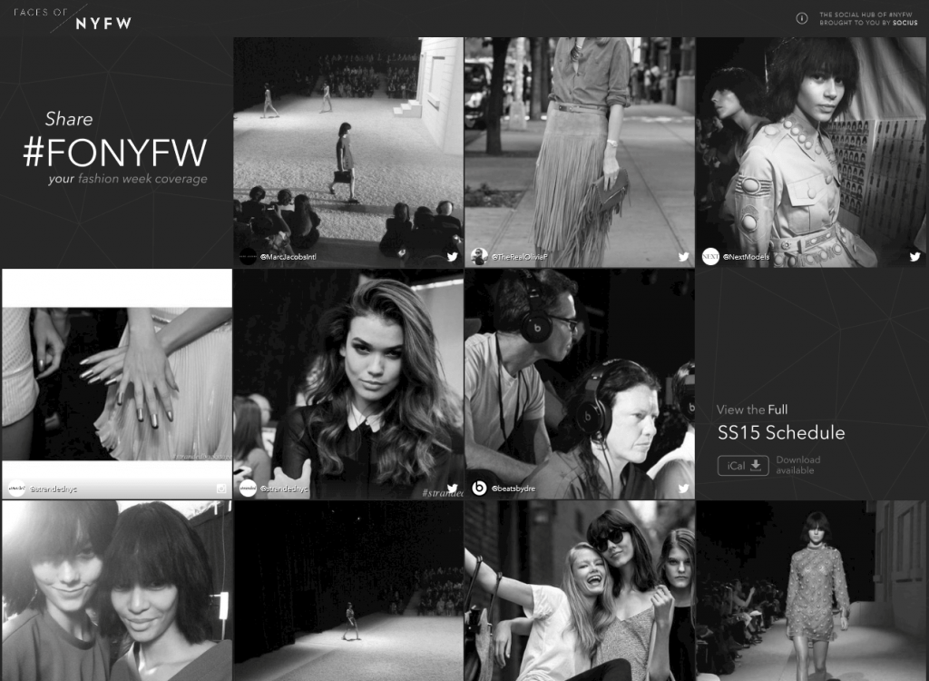 Faces of NYFW SS15 - A Socius Hub