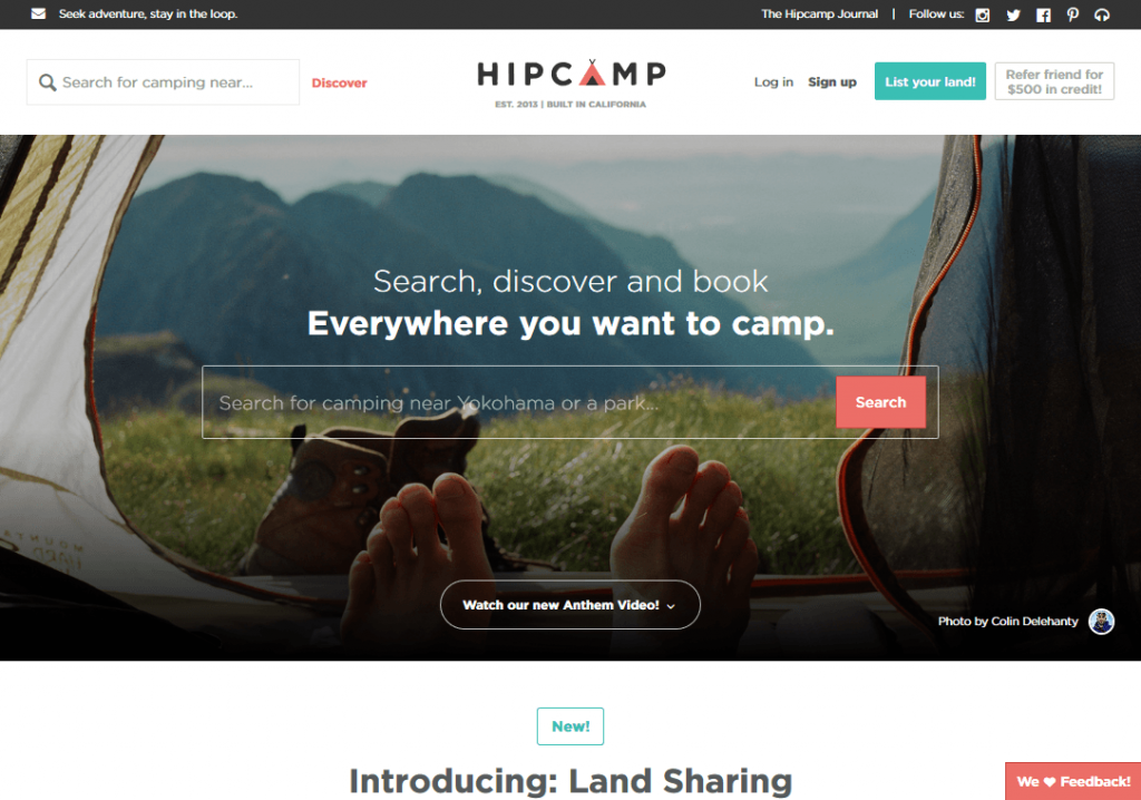Hipcamp Discover the Best Camping near you