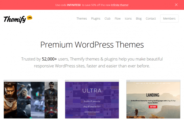 Drag & Drop WordPress Themes • Themify