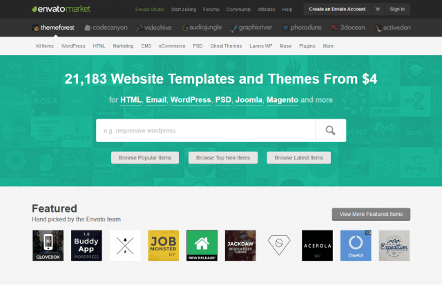 Website Templates WordPress Themes ThemeForest