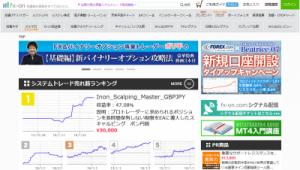 FX・株・日経225・自動売買・シグナル配信の投資情報総合サイト MT4やEAのすべてが解かる【fx-on.com】