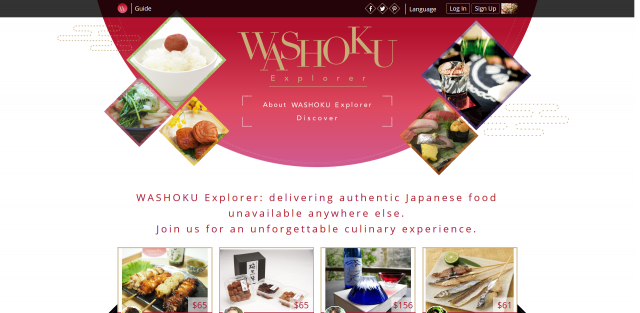 Healthy Japanese Food Online, Directly from Japan, WASHOKU Explorer