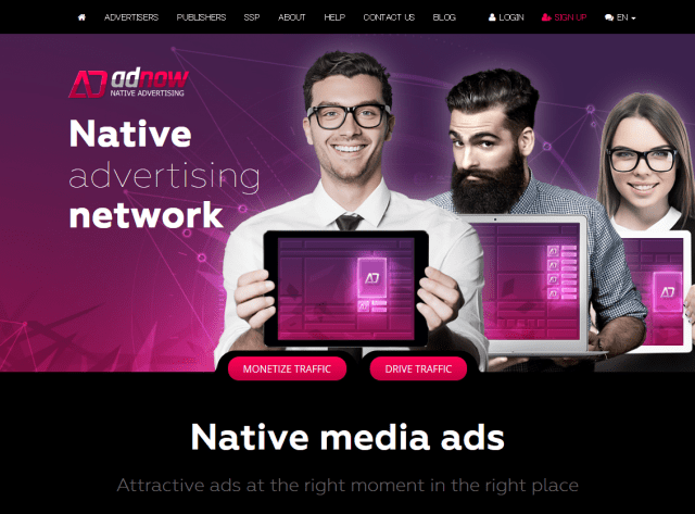 AdNow - native advertising network_