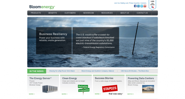 Bloom Energy - Alternative, Clean Energy Company